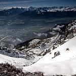 Innsbruck - widok z Alp