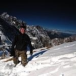 Tadeusz Baraniecki w Alpach