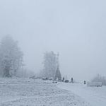 Grudzień 2008 - szczyt we mgle