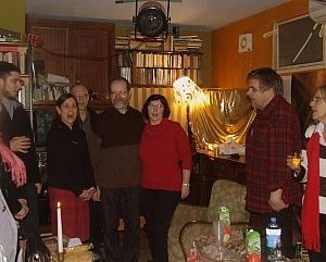 Jubilat wysłuchuje Sto lat