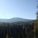 Śnieżne Kotły - panorama ze Złotego Widoku