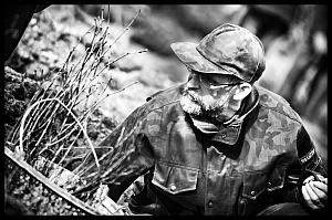Znajomy  leśniczy - pan Jarosła Kaczorek