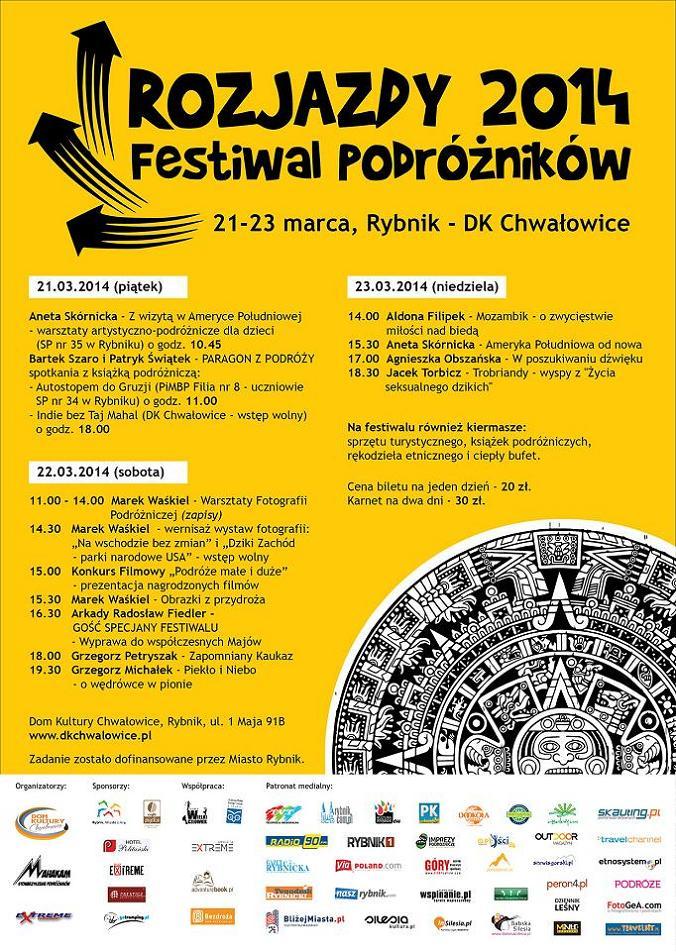 Rozjazdy 2014 - Plakat A2