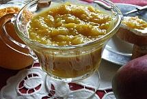 Chutnej z mango z sokiem pomarańczowym