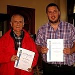 Jan Weigel i Szymon Baron wyróżnieni w Żywcu przez Marszałka Województwa Śląskiego za Zasługi dla Rozwoju Turystyki w 2014 roku