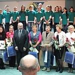 Wyróżnienia dla szczególnie zasłużonych  w promowaniu turystyki, oraz piękna regionu nauczycieli