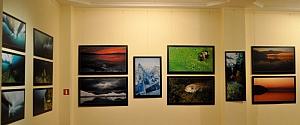 Wystawa Bajkał. Krolewstwo wody i lodu Olgi Kamenskiej