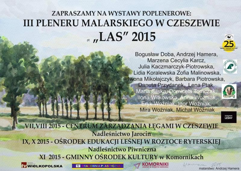 plakat - wystawa poplenrowa czeszewo 2015