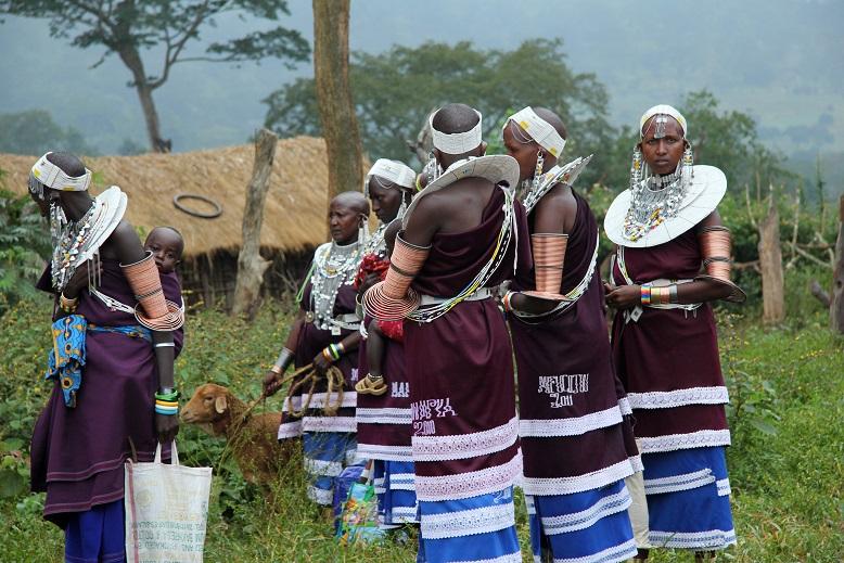 Masajowie - fot. Elżbieta Wiejaczka (2)