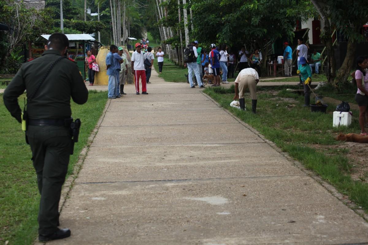 W Puerto Nariño dopuszczony jest tylko ruch pieszy