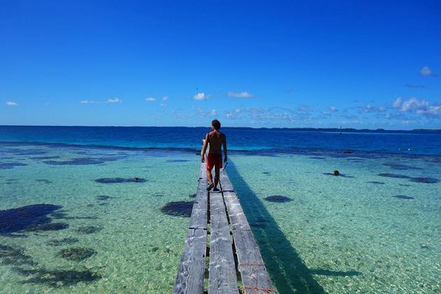 Wyspy na środku Pacyfiku - fot. Wojciech Mura