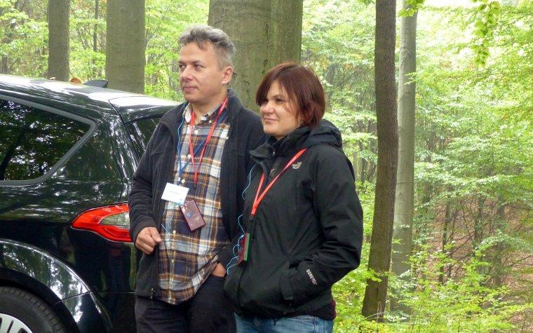 Jolanta i Andrzej Węgiel, foto. Dominik Jabłoński