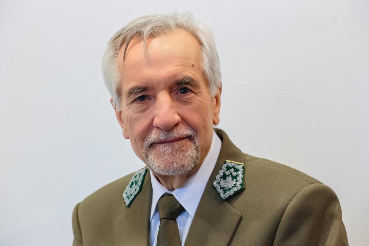 Dyrektor generalny LP, Konrad Tomaszewski. Źródło: Lasy Państwowe, fot. Paweł Grądzki