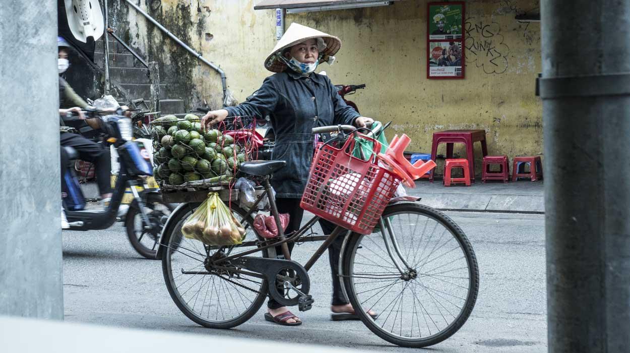 ulice sajgonu wietnam 2