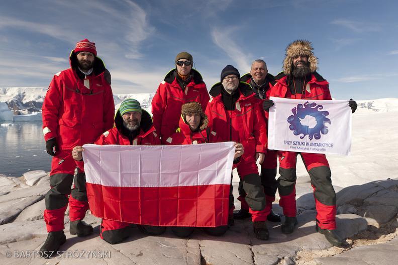 Trzy Sztuki w Antarktyce - fot. Bartosz_Stróżyński