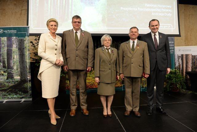 Od lewej Agata Kornhauser-Duda, Dariusz Pieniak, Elżbieta Bernard-Rybak, Jarosław Szałata, Adam Kwiatkowski